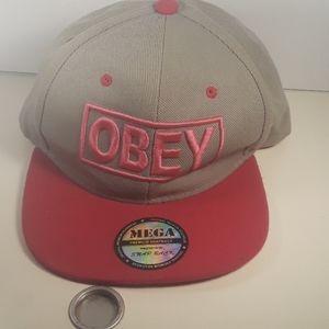 obey mega premiun snapback